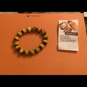 South African Tigers eye bracelet